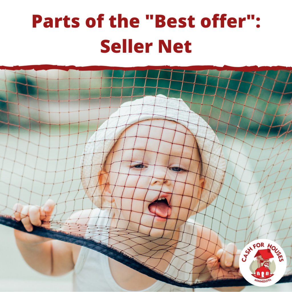 Parts of the Best Offer: Seller Net
